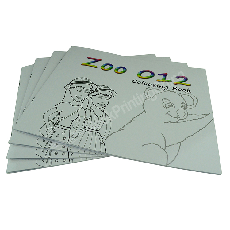 Custom Coloring Book Printing For Children