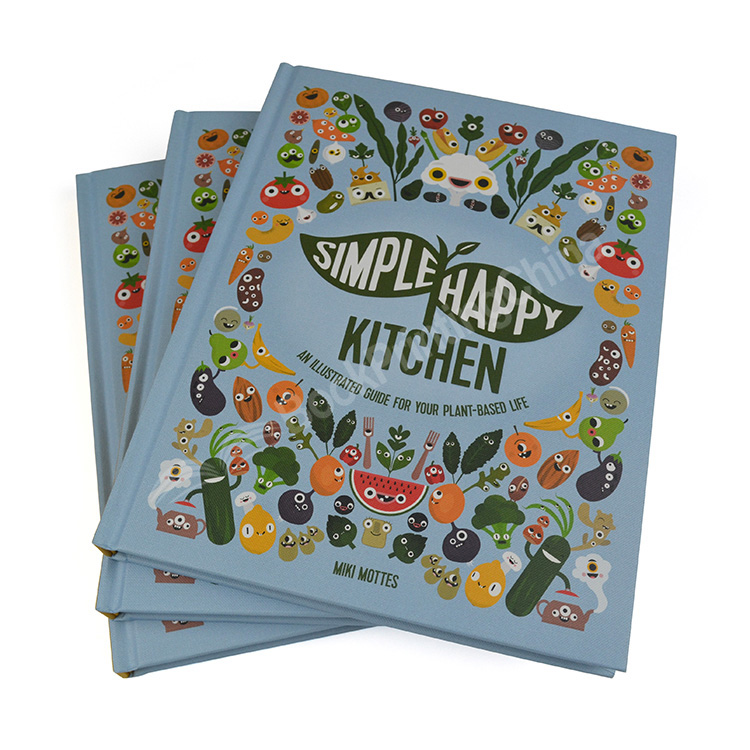 Custom High Quality Cookbook With Spot UV Finish
