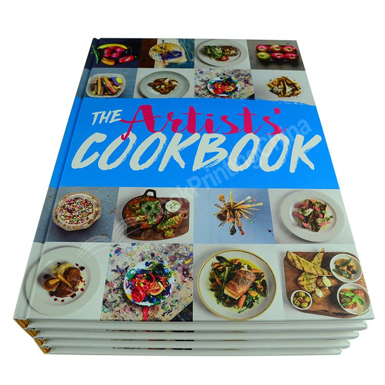 Cheap Custom With High Quality Hardback Cookbook