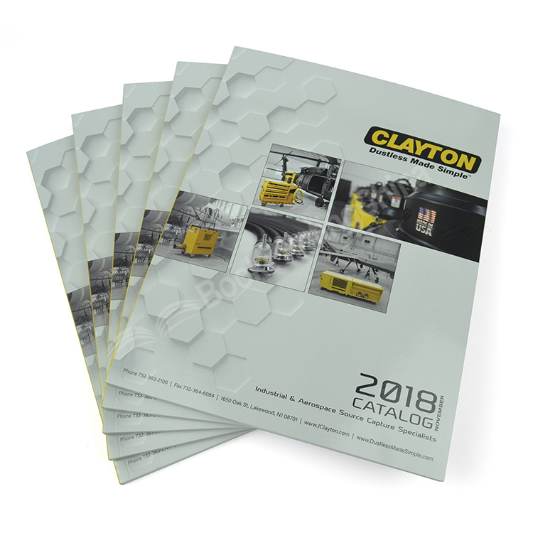 Customized Size High Quality Catalogue Printing With Perfect Bound