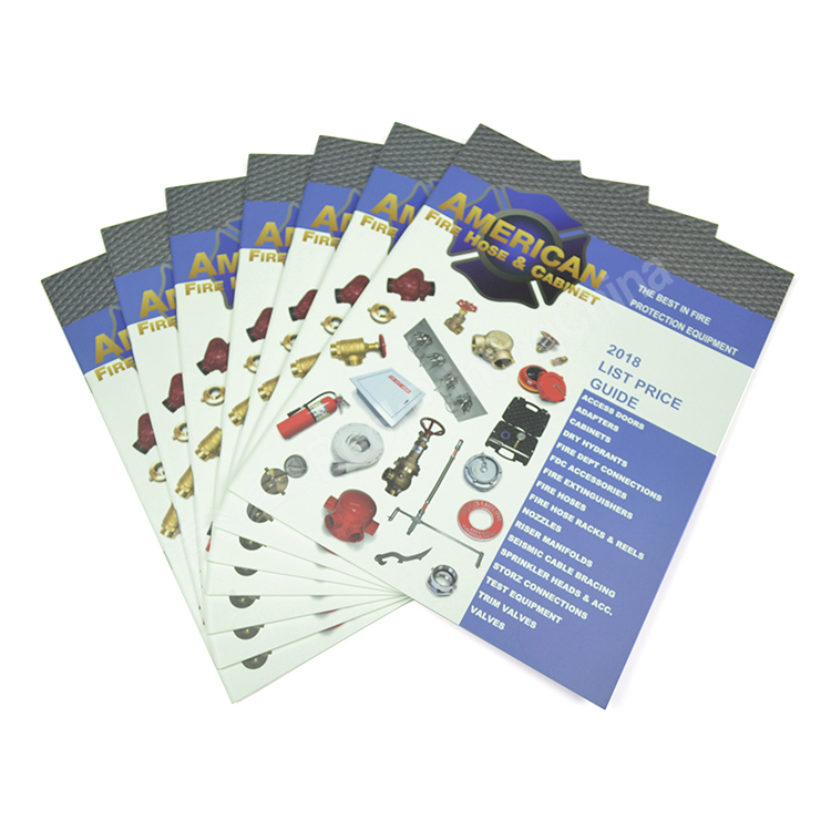 A4 Matt Laminate Colorful Catalogue Printing China