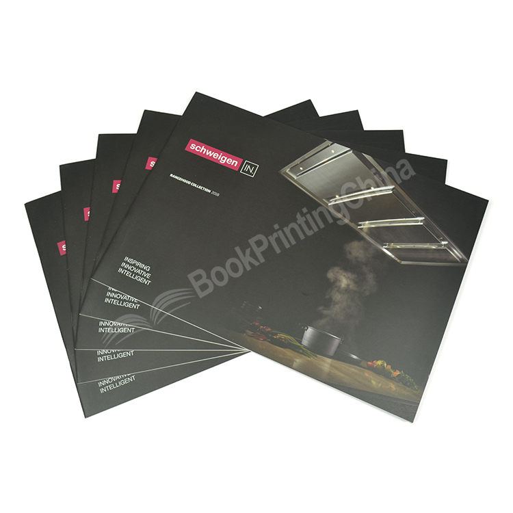 Customized A5 Landscape Saddle Stitch Color Booklet Printing