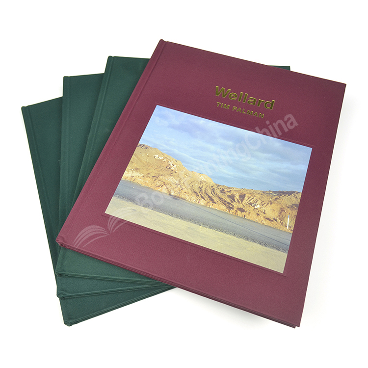 Cloth Cover Hardcover Photo Book In Professional Quality