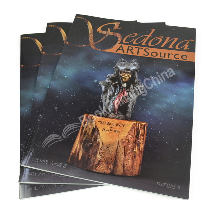 Customized High Quality Magazine Printing In China