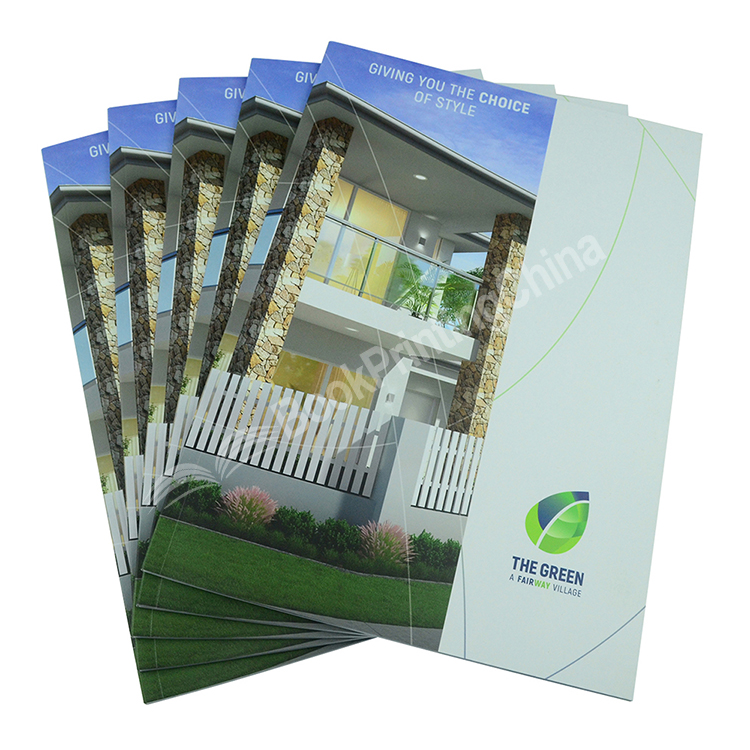Cheap Catalogue Book / Brochure Printing Service with Ssoft Cover