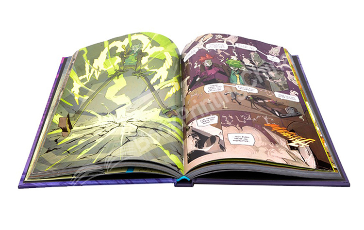 Great-competitive-factory-price-hardcover-comic-book