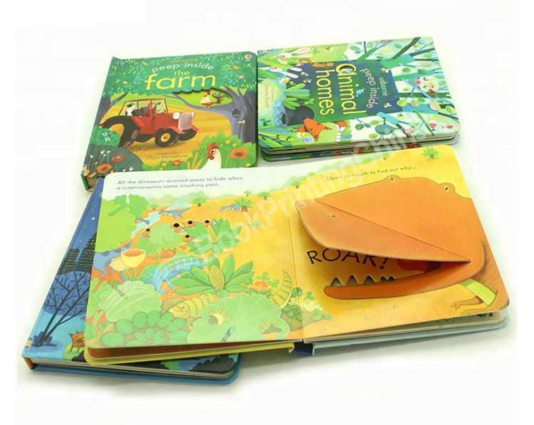 Hardcover-English-Story-Kids-Puzzle-Lift-And Hardcover-angļu-Story-Kids-Puzzle-Lift-Un