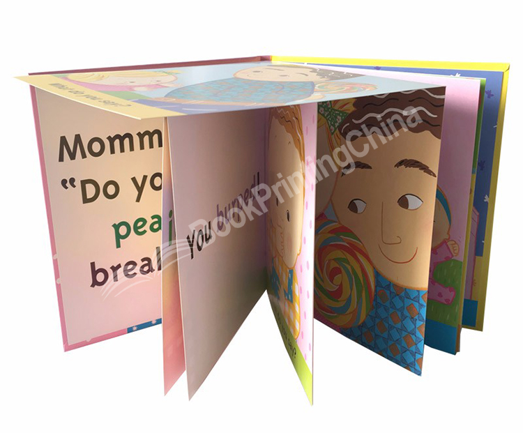 OEM-story-baby-cardboard-books-hard-cover