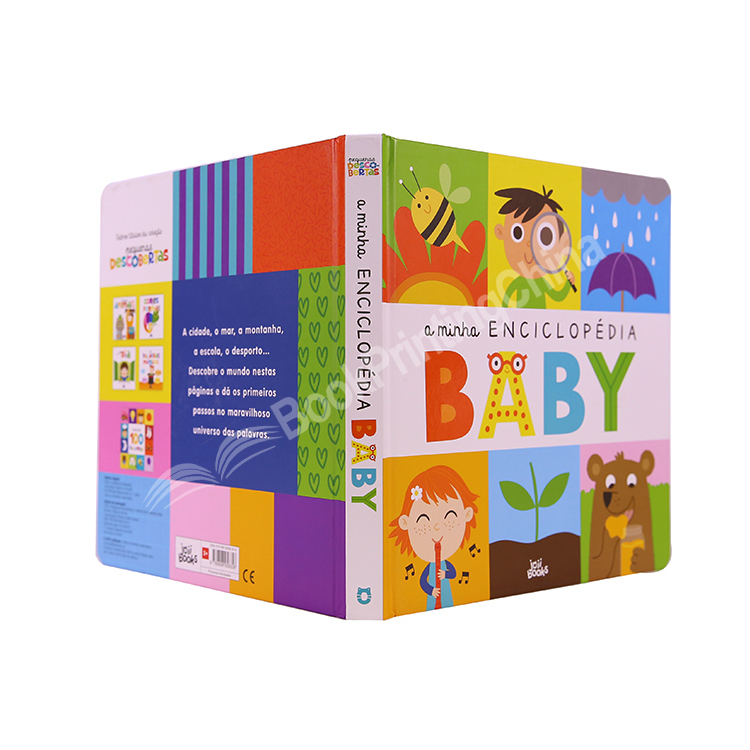High Quality Baby Children's Hardcover ABC Board Book English
