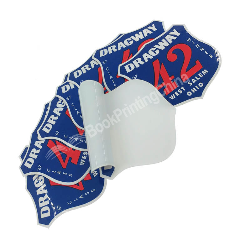 Custom Printed Waterproof Die Cut Logo Adhesive Vinyl PVC Sticker