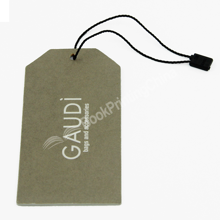Custom Branded Printed Garment Clothes Recycled Paper Hang Tag
