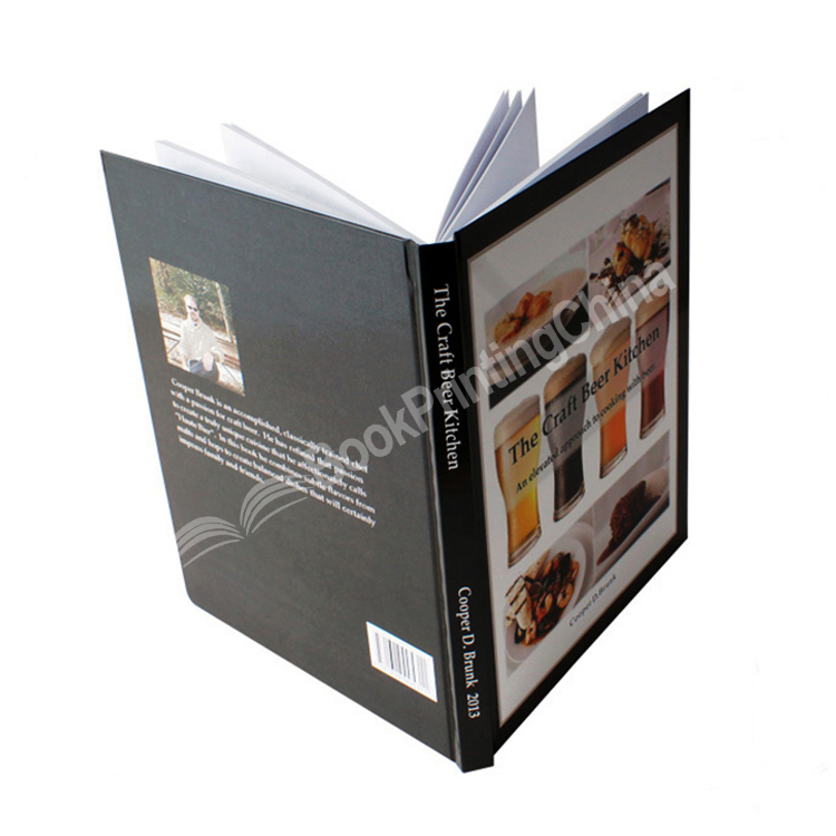 High Quality Colorful Hardcover Recipe Cooking Book Printing