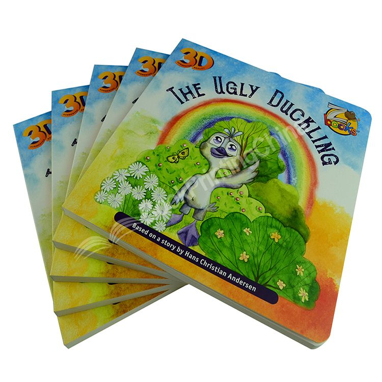 High quality Colorful Board Book Printing China