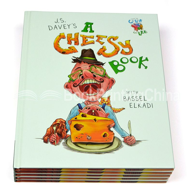 Customized Size Perfect Bound Children Book Printing In China