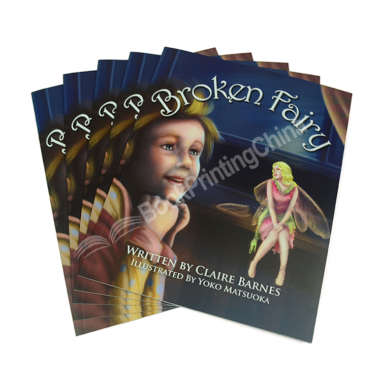 High Quality Customized Children's Paperback Book Printing At Low Price