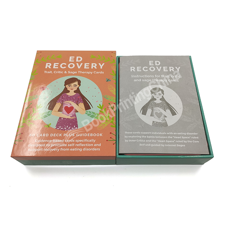 High Quality Playing Cards Printing With Hardcover Box China Printing Factory