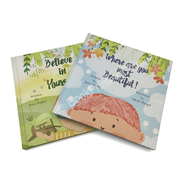 Customized Top Quality Hardcover Children Books Printing With Mirror