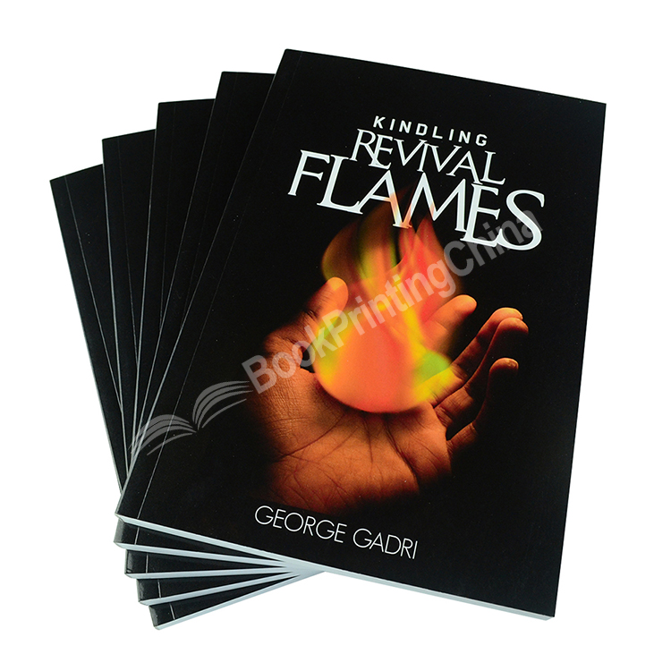 Fast Delivery Perfect Bound Softcover Book Printing