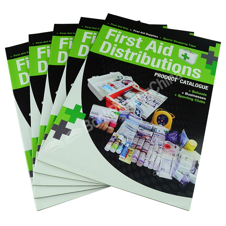 Offset Printing Factory Cheap Price Full Color Custom Catalogue Printing Service