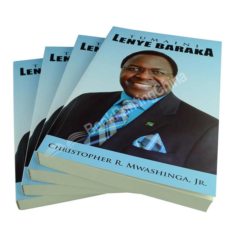 Custom Design Cheap Price High Quality Softcover Book Printing With Soft Touch Lamination