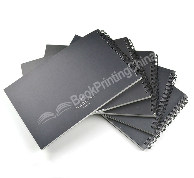 Custom Size Offset Book Printing Wire-O/Spiral Book Cheap Catalogue Printing