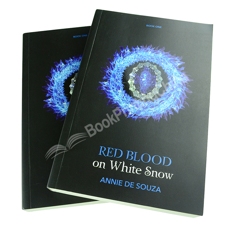 Black and White Novel Printing Cream Paper Softcover Book Printing
