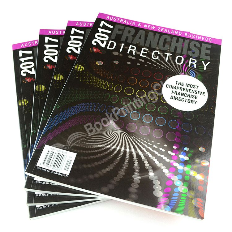 Full Color Paperback Cheap Catalogue Printing With High Quality